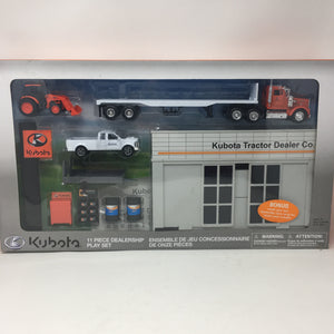 11 Piece Dealership Play Set
