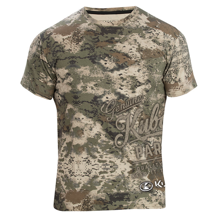 Mud Splatter Camo S/S T- Shirt