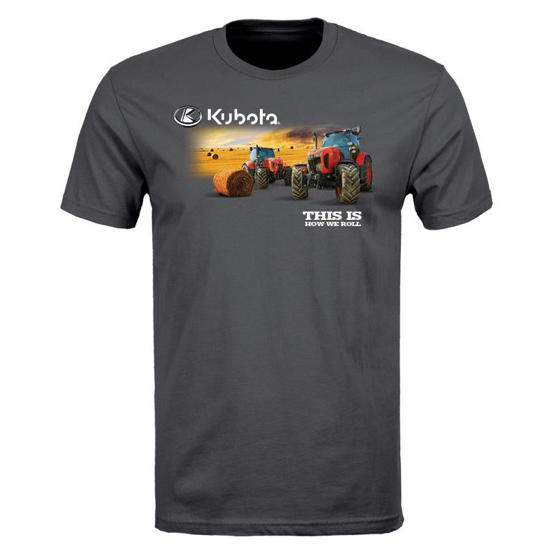 Kubota How We Roll S/S T-Shirt