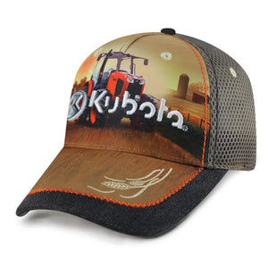 Sublimated Farm Scene Mesh Back Cap