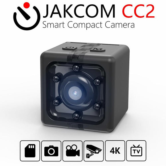 JAKCOM Portable CC2 Full-HD Mini Cube Smart Pocket Camera USB Pocket Camera  as DVR DV Motion Recorder Camcorder 1080P Available