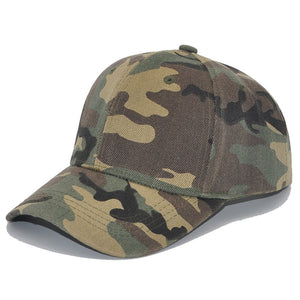 Spring Adjustable Cotton Cap Men Women Multicolor Ponytail Baseball Caps Outdoor Leisure Sun Hat Camouflage Hats Free Shipping