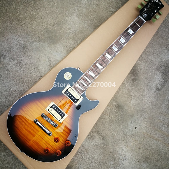 Classic LP electric guitar, new style, good sound, free shipping