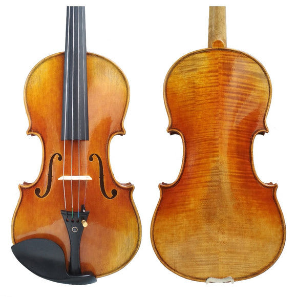Free Shipping Copy Antonio Stradivari Cremonese 1716 Model Violin FPVN01 with Canvas Case and Brazil Bow Rosin