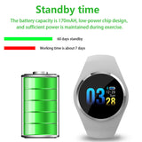 SCOMAS Bluetooth Lady Smart Watch Fashion Women Heart Rate Monitor Fitness Tracker Smartwatch APP Support For Android IOS