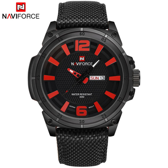 2017 New Fashion Luxury Brand NAVIFORCE Men Army Military Watches Men's Quartz Clock Man Sports Wrist Watch Relogios Masculino