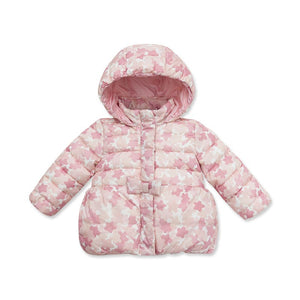 DB3000 dave bella   winter infant coat baby girl cute jacket padded jacket girls outerwear girls wadded coat girls jacket