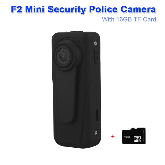 Mini Pocket Body Police Camera Security Camera 1920x1080 30fps Video Audio Recording Motion Detection HD DVR Camera W/TF Card