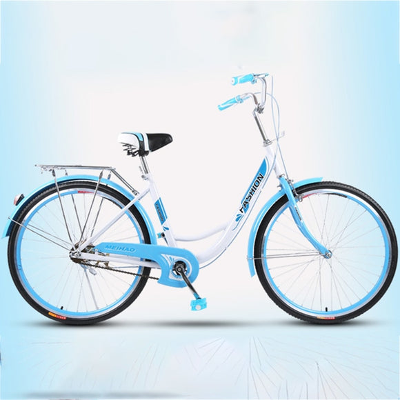 Free Shipping high quality carbon steel material  24 inch Female student retro commuter Producers tourism bike