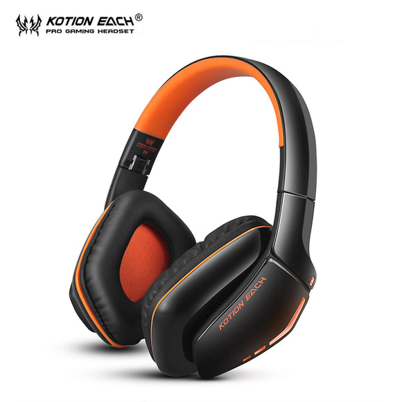 KOTION EACH B3506 Wireless Bluetooth Headphone Gaming headset pc gamer Headphones with Microphone LED light for smartphone