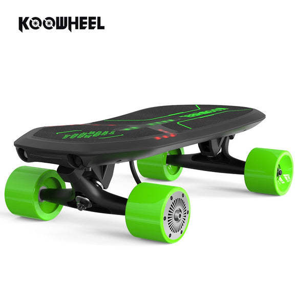 Koowheel 4 wheel Kids Scooters Electric Skateboard Children Mini Scooter Electronic Skateboards for Child Skate Sport 100W Motor