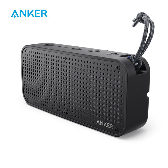 Anker SoundCore Sport XL Portable Bluetooth Speaker,16W Audio Output,2 Subwoofers,66ft Bluetooth Range,15H Playtime,Built-in Mic