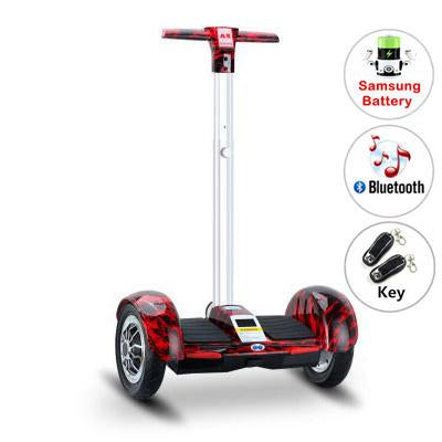 A8 hoverboard electric scooters Skateboard Samsung battery Hoverboard with handle Bluetooth Self Balancing Scooter electric