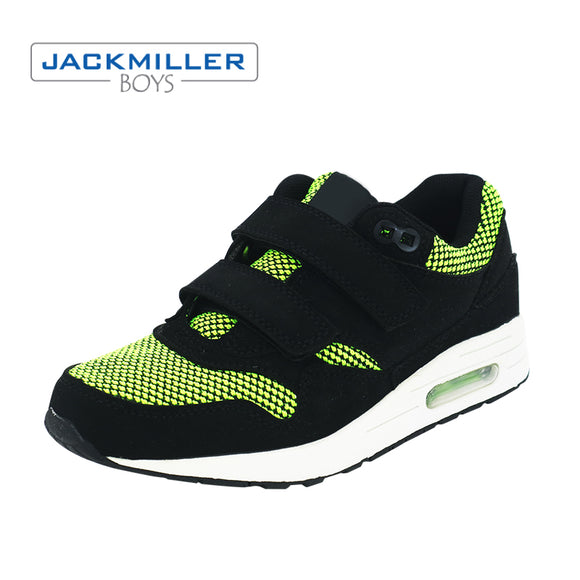 Jackmillerboys kids shoes children boys girls fashion sneakers sport children shoes leisure breathable outdoor green size 32-36