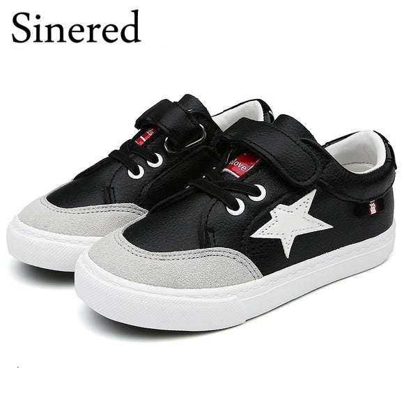 Sinered Spring 2018 new boys girls fashion sneakers children's sport shoes teenage student running shoes for kids size 25-38
