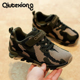 2018 New Children casual shoes Fashion boys sneakers girls sport shoes kids running shoes camouflage colour green and pink shoe