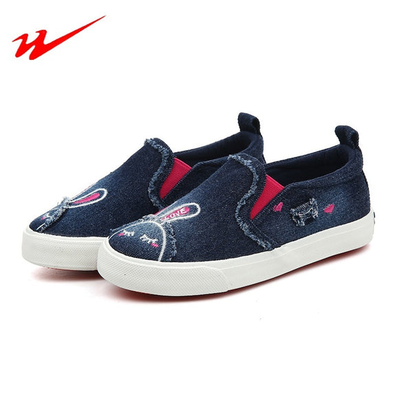 DOUBLESTAR MR 2018 Sprot Shoes Pattern Children's Canvas Shoes Magic Subsidies Kids Shoes Girls Running Brand Sneakers