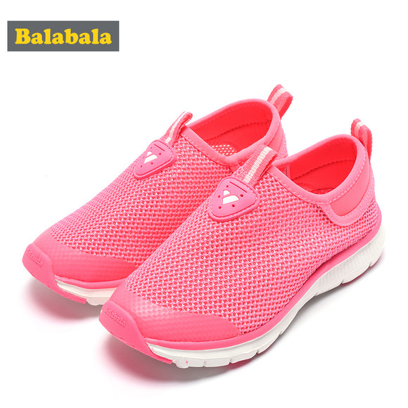 Balabala 2018 summer sneaker new style boys girls casual portability shoes kids sneakers brand children's running shoes baby