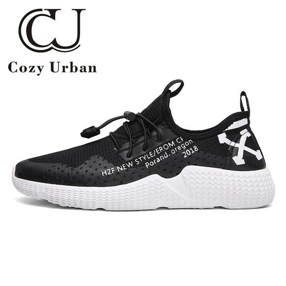 Cozy Urban 2018 mens fashion shoes man sneakers mesh for summer 2018 jogging