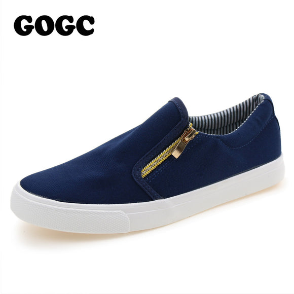 GOGC Brand Canvas Shoes for Women Comfortable 2018 Autumn Autumn Cotton Flat ShoeS Female Vulcanize Footwear Women Casual Shoes
