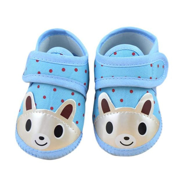 Newborn Girl Boy Soft Sole Crib Toddler Shoes Canvas Sneaker