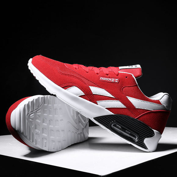 2018 Autumn Couples Sports Running shoes Air Cushion Sneakers for women and men athletic shoes Outdoor Trainers 36-44