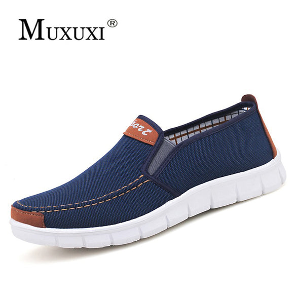Breathable Mens Shoes Sales Lace Up Canvas Shoes Sneakers Designer Outdoor England Fashion Zapato Breathable Slip on flats