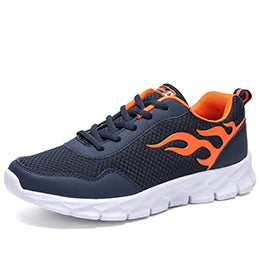 sufei Men Breathable Fire Runing Shoes Women Trend Outdoor Jogging Sneakers Non Slip Walking Shoes Plus Size Shoes For Unisex