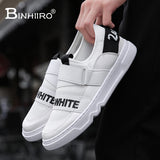 BINHIIRO New Men Shoes summer Fashion Men Casual Shoes Breathable Male sneakers adult Non-slip Comfortable Men's Vulcanize Shoes
