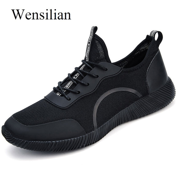 Summer Unisex Running Shoes Sport Shoes Men Sneakers Women Trainers Lightweight Air Mesh Breathable Black Outdoors Baskets Homme