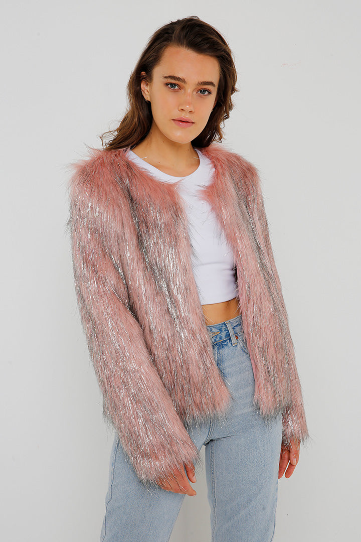 Fire & Ice Jacket in Pink