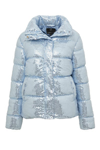 Desire Jacket in Illusion Blue