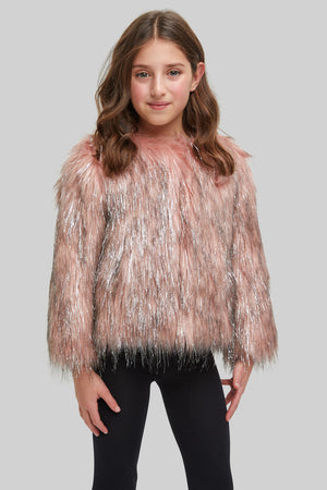 Mini Fire & Ice Jacket in Pink