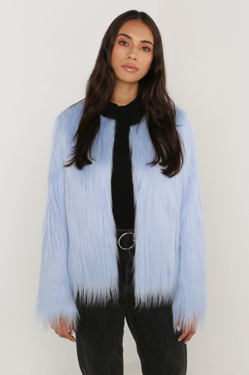Unreal Dream Jacket in Pastel Blue