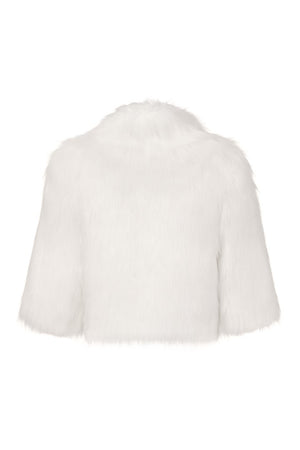Desire Cropped Jacket in Ivory