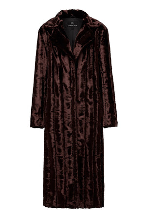Velvet Underground Coat in Chocolate