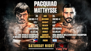 How To Watch The Manny Pacquiao Fight!!