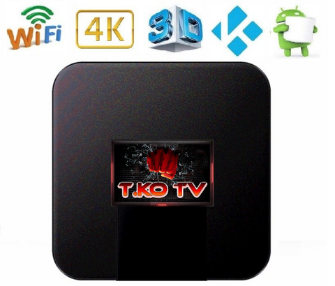 T.KO TV Streaming Box with 1 Month of T.KO TV
