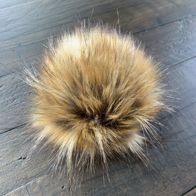 Toasted Toffee Handmade Faux Fur Vegan Pom Pom
