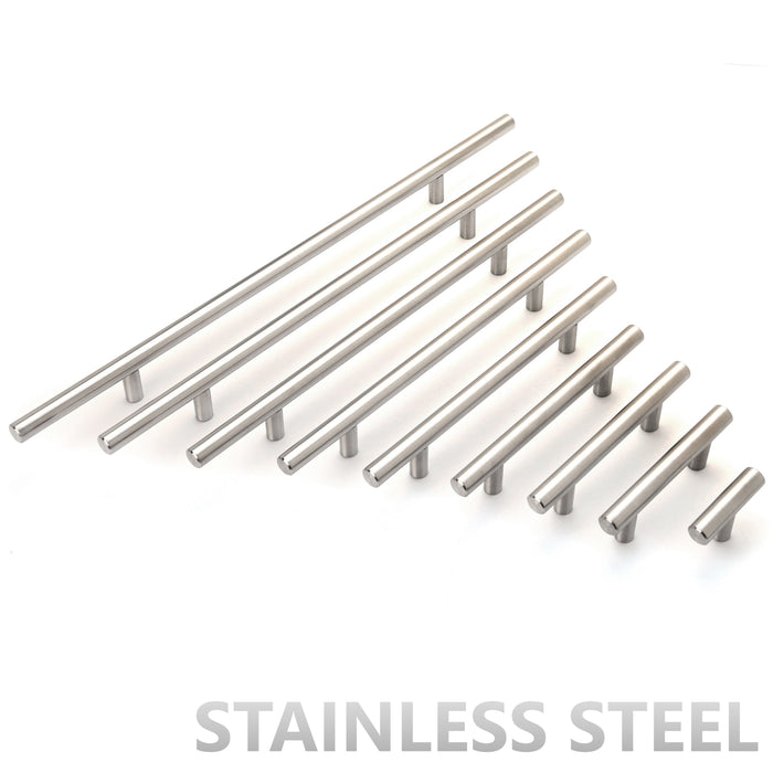 Stainless Steel T Bar Cabinet Pull Handles