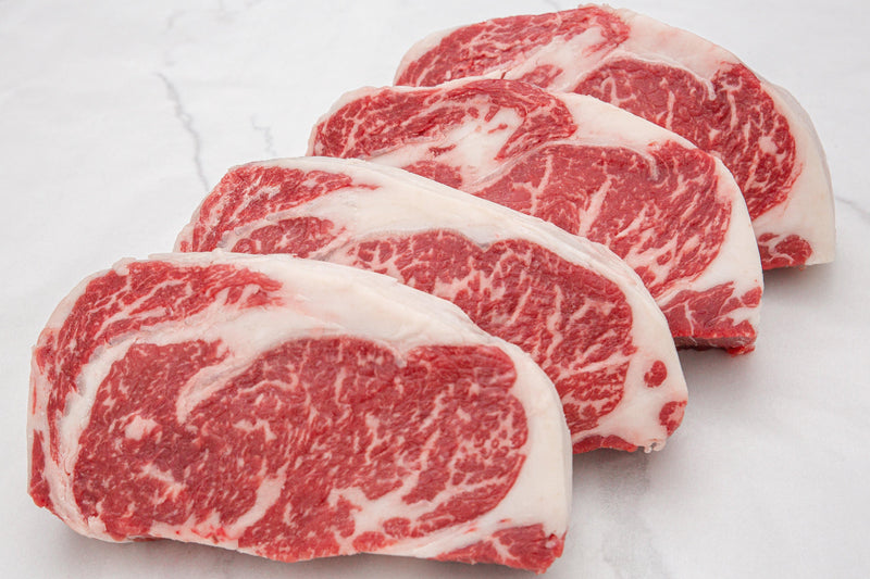 Dry-Aged USDA Prime Black Angus Beef Boneless Rib Steak, Center Cut - PAT LAFRIEDA HOME DELIVERY