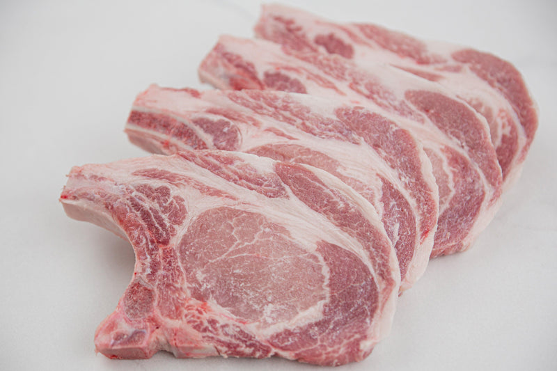 Bone-In Pork Chops 6oz (4 Portions) - PAT LAFRIEDA HOME DELIVERY