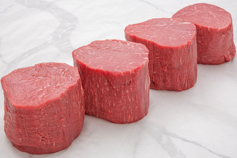 USDA Prime Black Angus Beef Filet Mignon, Barrel Cut - PAT LAFRIEDA HOME DELIVERY