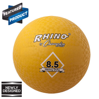 Rhino Heavy Duty Playground Ball Yellow - 8.5 inch
