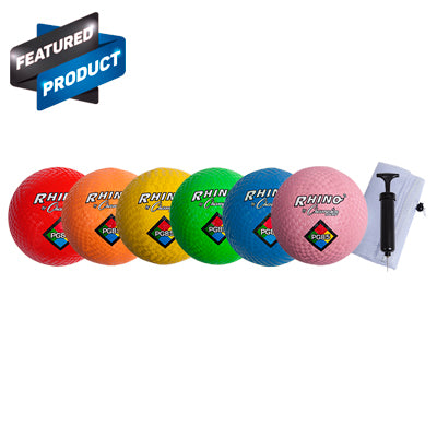 Neon PG Ball Set w/ Pump- 8.5 inch