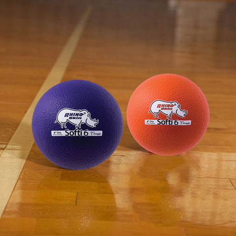 Rhino Skin Low Bounce Softi Ball Set - 6 inch