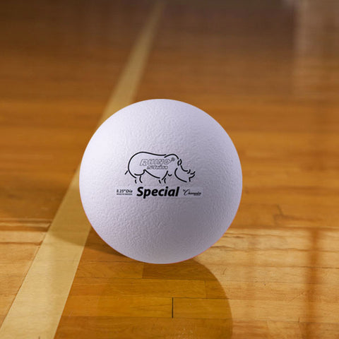 Rhino Skin Medium Bounce Special Foam Ball White - 8.5 inch