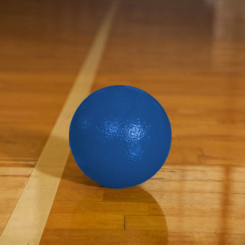 Rhino Skin Low Bounce Dodgeball Neon Blue - 6 inch