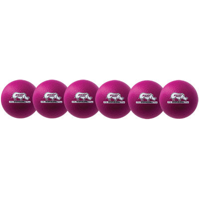 Rhino Skin Low Bounce Dodgeball Set Neon Violet - 6 inch