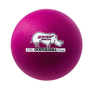 Rhino Skin Low Bounce Dodgeball Neon Violet - 6 inch